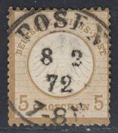 BRUSTSCHILD Nr. 6 Sauberer Preussen-K2 POSEN  (bb20) - Gebruikt