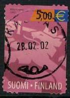 2002 Finland, 5,00 Lion Used. - Oblitérés