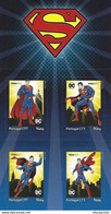 """PORTUGAL - """"meuselo"""" - DC Comics Superman (4 Self-adhesive Stamps) - Date Of Issue: 2020-06-01 - Other"""