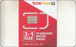 Thailand  Phonecard GSM Card TRUE Mint - Thailand