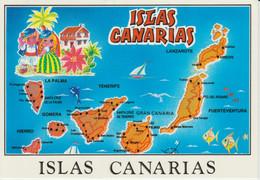 (CANA1470) ISLAS CANARIAS. MAPA. MAP. MAPE - Unclassified