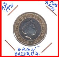 """GRAN BRETAÑA  MONEDA – TWO PENNY AÑO 1998"""""""""""""""" ELISABETH II DEI GRATI REGINA """""""""""""""" - 1902-1971 : Monete Post-Vittoriane"""