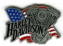 Pin's Moto Harley Davidson - Moto