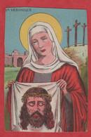N° 321 - Image Pieuse - 1845 - Ste VERONIQUE - Brrrrrrrrrr - Devotion Images