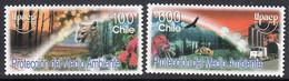 A1362 CHILE 2004,  SG 2088-89  Flora & Fauna,  MNH - Chile