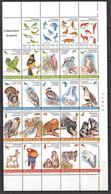 J0025  MEXICO 1994, SG 2182-205 Nature Conservation, Birds, Animals, MNH - Mexico