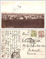 ÚTSJÓN YFIR REYKJAVÍK - CARTE POSTALE VOYAGÉE En 1925 / MAILED With PAQUEBOT In 1925 From BERGEN / NORWAY (af640) - Islandia