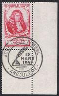 Journée Du Timbre (avec Cachet Journée Du Timbre Du 15 Mars 1947). N° Y&T 779. Michel Le Tellier, Marquis De Louvois. - Gebraucht