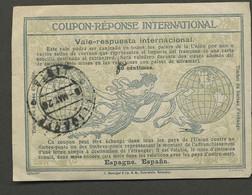 1920    Joli Coupon Réponse  ESPAGNE - Unclassified