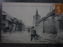 CAPPY  RUE DE L EGLISE - Other Municipalities