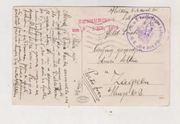 CROATIA AUSTRIA 1914 PULA POLA SMS DON JUAN D'AUSTRIA  Ship Cancel Nice Postcard BRIONI BRIJUNI - Croacia