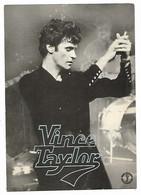 """VINCE TAYLOR, PROMOTION DU DISQUE """" LUV """" ( SECRETARIAT ARTISTIQUE A MONTMEDY, MEUSE ) - Singers & Musicians"""