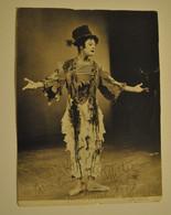 Photographie Photo Autographe Original Marcel Marceau Mime Marceau - Beroemde Personen