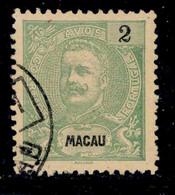 ! ! Macau - 1898 D. Carlos 2 A - Af. 80 - Used - Oblitérés