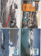 GREENLAND - 2012 - LIFE ON COAST  & MINING SETS OF 2 MAXI  CARD , SG CAT £17+ - Lettres & Documents