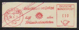 POLICE - POLIZEI  / 1971  ALLEMAGNE EMA ILLUSTREE (ref M86) - Policia – Guardia Civil
