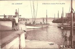 LORIENT  -- L'entrée Du Nouveau Port De Pêche                               -- Artaud Et Nozais 134 - Lorient