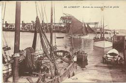 LORIENT  -- L'entrée Du Nouveau Port De Pêche                               -- Artaud Et Nozais 89 - Lorient