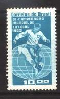 #9005 BRASIL BRAZIL1963 FOOTBALL SOCCER WORLD CUP 62 BICHAMPION   NEUF MNH POSTFRISCH - 1962 – Chili
