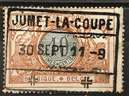 TR28 Gestempeld JUMET-LA-COUPE - 1895-1913