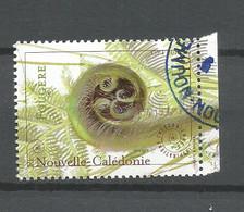 1284    Timbre Du Bloc  Inspirations  Fougére  Bdf   (pag3c) - Neukaledonien