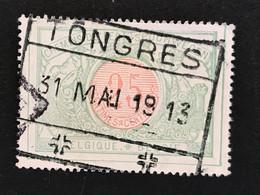TR31 Gestempeld TONGRES - 1895-1913