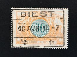 TR32 Gestempeld DIEST - 1895-1913