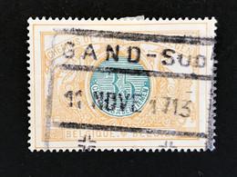 TR33 Gestempeld GAND-SUD - 1895-1913