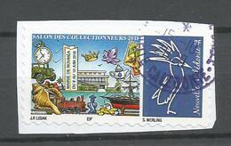 1337 TIMBRE PERSONNALISE    SALON  DES COLLECTIONNEURS    (pag8 E) - Used Stamps