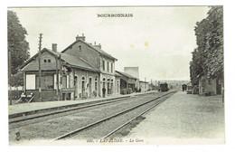 03 ALLIER LAPALISSE La Gare Train Chemin De Fer - Otros Municipios