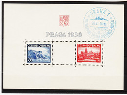 CAO269 TSCHECHOSLOWAKEI 1938 Michl BOCK 4 Gestempelt  SIEHE ABBILDUNG - Czechoslovakia