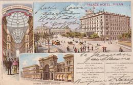 Milan. Palace Hotel - Milano