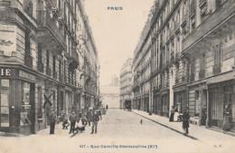 CARTE POSTALE   PARIS XI°  Rue Camille Desmoulins - Paris (11)