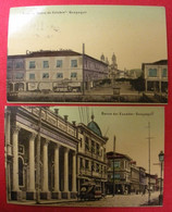 1909 Equateur Républica Del Ecuador 6 Tarjeta Postal Guayaquil Airededores I Indios De Otalavo Dos Scannés éditor Divers - Ecuador