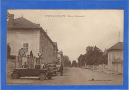 71 SAONE ET LOIRE - PONTANEVAUX Route Nationale, Ravitaillement à Une Pompe à Essence (voir Descriptif) - Frankreich