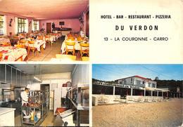 13-LA COURONNE CARRO-HOTEL DU VERDON-N°404-A/0161 - Otros Municipios