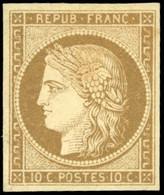 * 1a -  10c. Bistre-brun. TB. - 1849-1850 Ceres