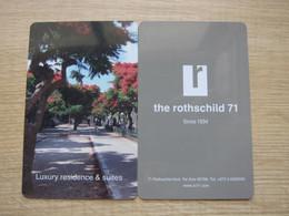 The Rothschild 71 Tel Aviv, Israel - Cartes D'hotel