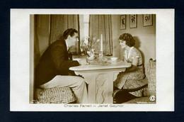 Cartolina Cinema - Charles Rogers - Janet Gaynor - Actors