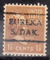 USA Precancel Vorausentwertung Preo, Locals South Dakota, Eureka 716 - Preobliterati