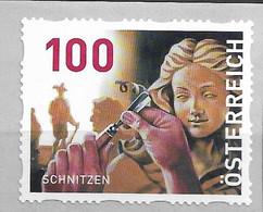 2020 Austria Österreich Mi. 38 **MNH Mit Nr. 175 Schnitzen  Dispenserrollenmarken - 2011-... Nuevos & Fijasellos