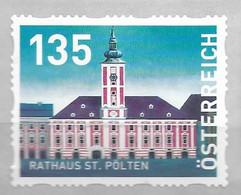 2020 Austria Österreich Mi.39 **MNH Mit Nr. 180   Rathaus St. Pölten  Dispenserrollenmarken - 2011-... Nuevos & Fijasellos