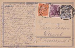 Entier Inflation Obliteration De Gare 02.10.1922 - Postwaardestukken