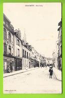 CHAUMONT : La Rue Laloy. 2 Scans. Edition Jullien Et Morel - Chaumont