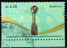 Brasilien 2016,Michel# 4385 O  Women's Handball World Championship 2013, Serbia - Handball