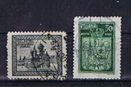 Rumänien 1922, Michel-Nr. 286 + 288 Gestempelt / Used - 1918-1948 Ferdinand, Charles II & Michael