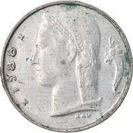 Monnaie, Belgique, Franc, 1988, TB+, Copper-nickel, KM:143.1 - 04. 1 Franc