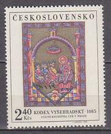 L3535 - TCHECOSLOVAQUIE Yv N°1813 ** PEINTURES - Unused Stamps