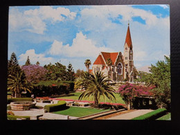 Africa / Namibië - Christuskirche - Windhoek -> Written - Namibia