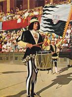 SIENA-PALIO-2 CARTOLINE VERA FOTOGRAFIA UNA VIAGGIATA NEL 1970 - Siena